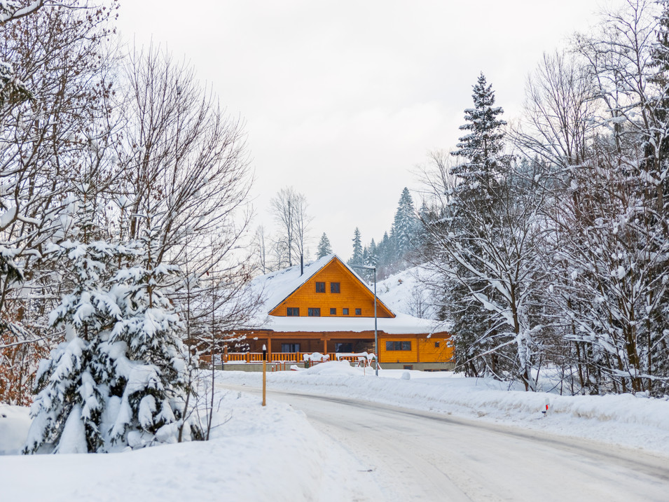 Kysucká Koliba v zimnom období
