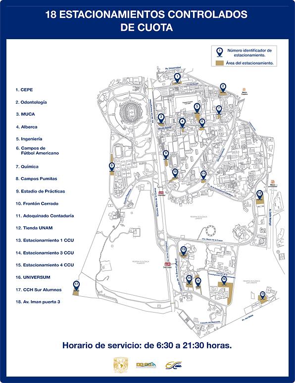 estacionamientos controlados cuota 12 10