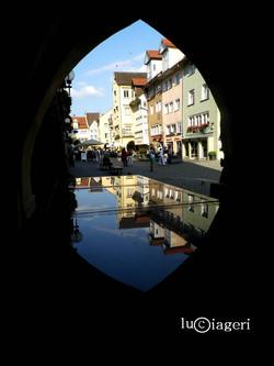 Lindau - Tavolinetto sotto l'arco