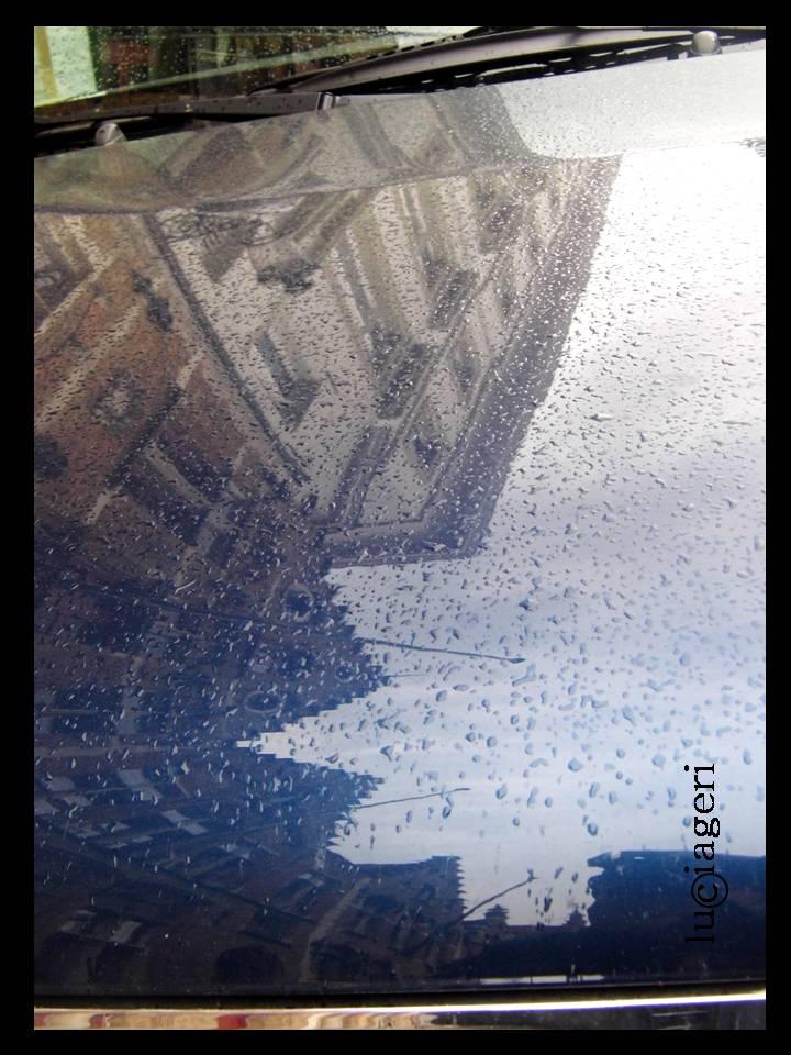 Bruges (auto in giorno di pioggia)