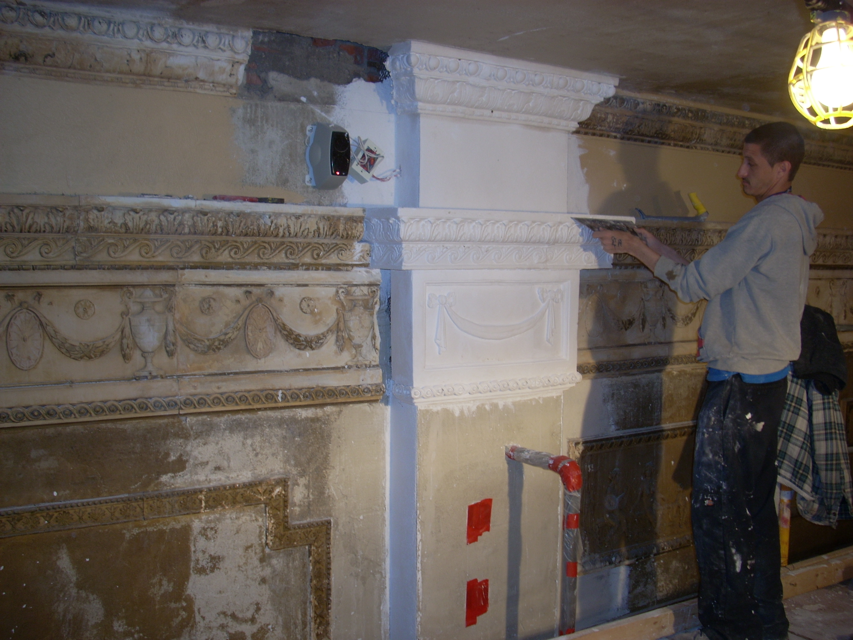 Plaster work progress 003.JPG