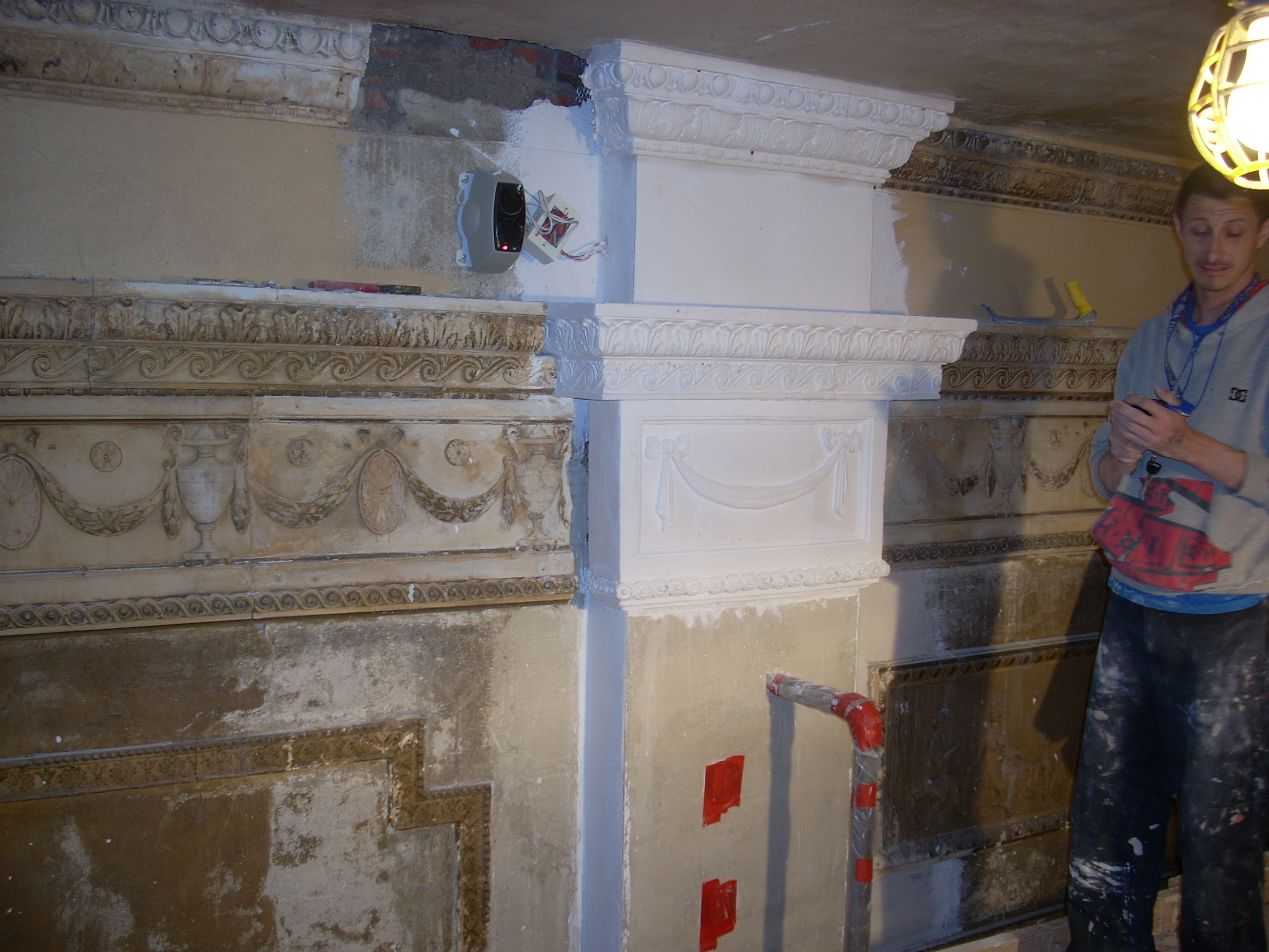 Plaster work progress 002.JPG
