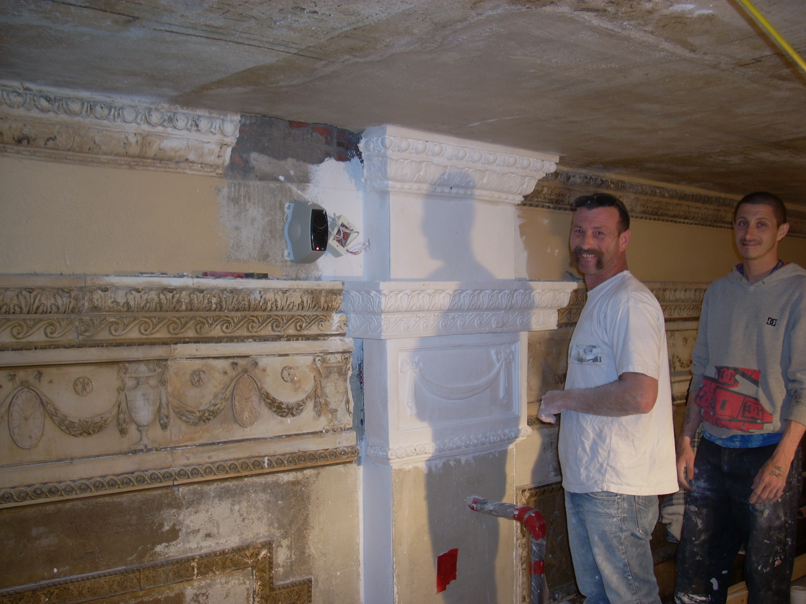 Plaster work progress 001.JPG