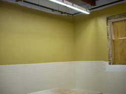Bathroom renovation!