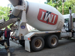 Big ol' cement truck