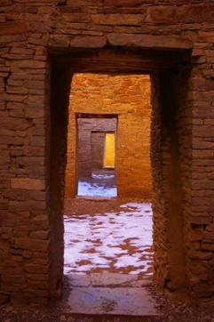 Doors Pueblo Bonita Chaco Canyon