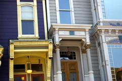 Haight Street Victorians San Francisco