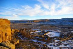 Chaco Canyon -- Pueblo Bonito