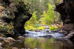 Jemez River Box Canyon