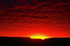Chaco Canyon Winter Solstice Morning