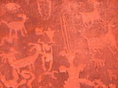 Ancient Petroglyphs, Newspaper Rock, Utah