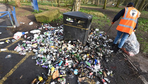 Helping to tackle Britain's 'litter epidemic' after lockdown.