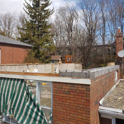 Roof Off - Ready for Addition