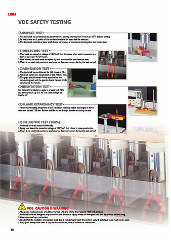 VDE Safety Testing Proces