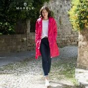 Marble hooded coat - Raspberry.jpg