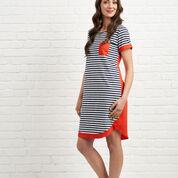 Foil short sleeved dress.jpg