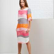 Foil elbow sleeved dress.jpg