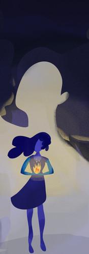 Ilustração Maria da Penha