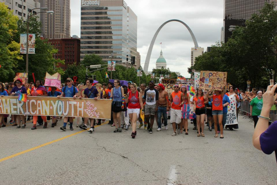 2014 Pride Parade Downtown St. Louis