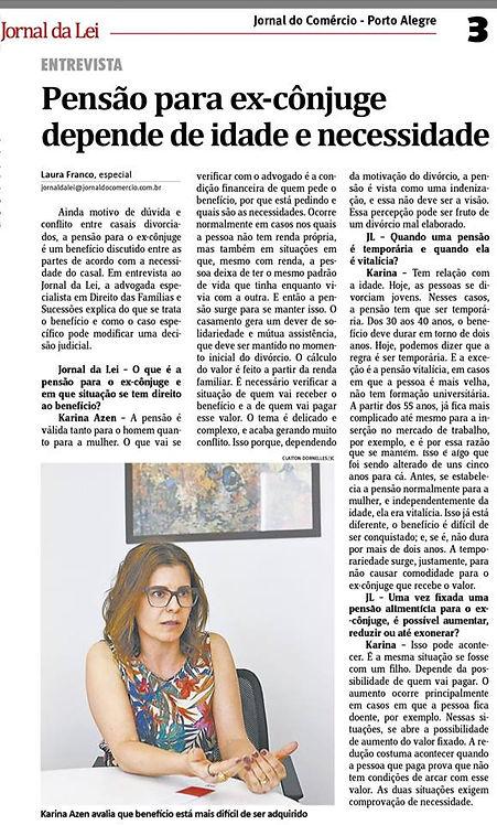 JORNAL DO COMERCIO 16.11.17 - ENTREVISTA