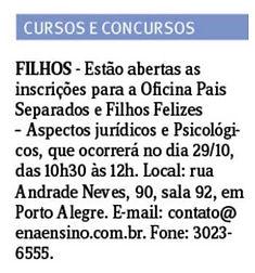 Jornal do Comercio 19.10.16 -Oficina Pai