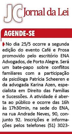 Jornal do Comercio 15.05.18 - Cafe e Pro