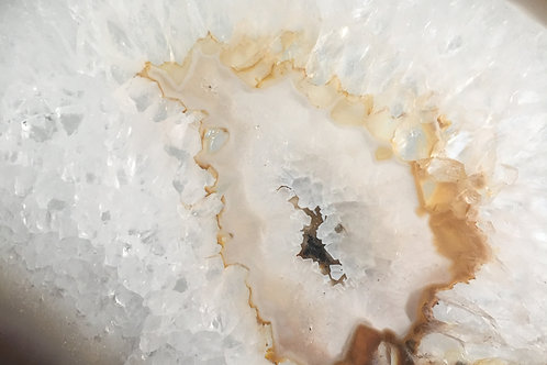 "Crystals - Geode Slices 6-7"" / Natural"