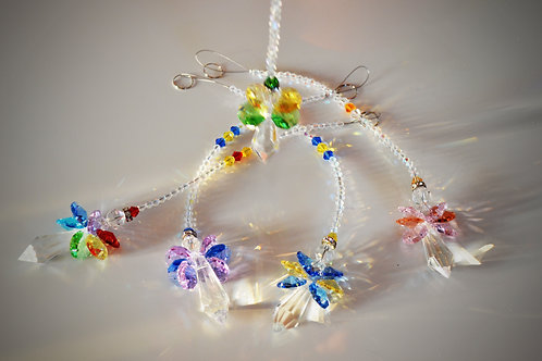 Hanging Crystal Angel