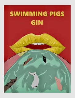 Swimming Pigs Gin