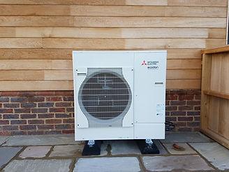 Mistubishi Ecodan Air Source Heat Pump