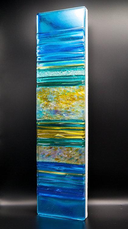 SUMMER BREEZE                   Sculptural Glass Panel