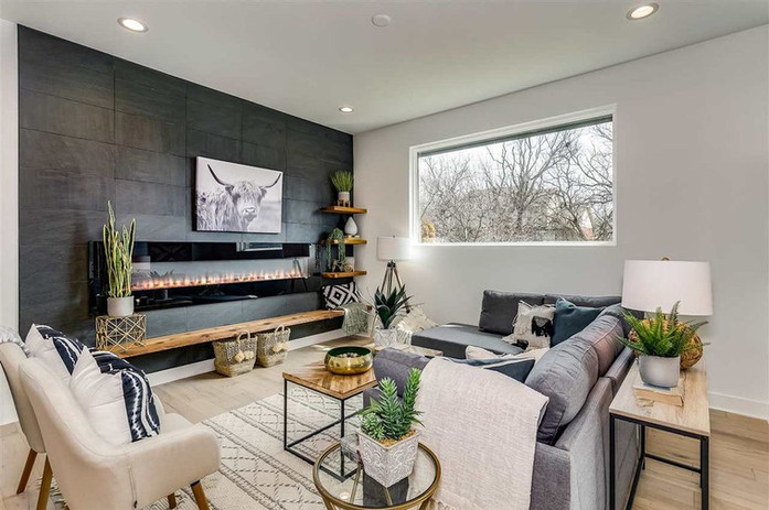 LoveLeeHomes Modern Living Room