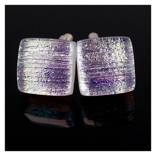 CUFFLINKS | Silver Gold Thread