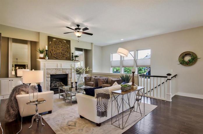 LoveLeeHomes Home Staging Living Room
