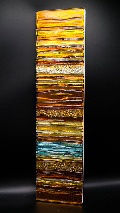 TOPAZ - Sculptured Glass Panel