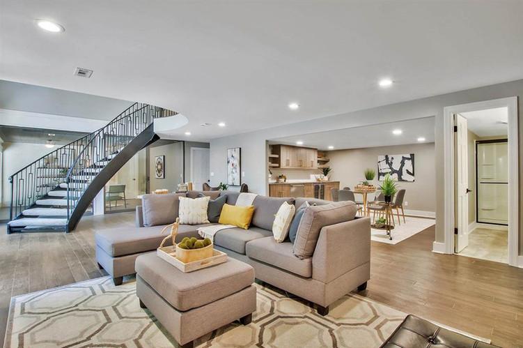 LoveLeeHomes Living Room Staging