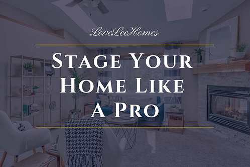 How to Stage Your Home Like A Pro PDF