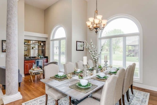 LoveLeeHomes Staging Photo of Dining Roo