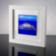 Framed Glass Tile - Brighton West Pier