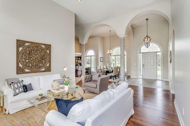 LoveLeeHomes Wichita Home Staging Living
