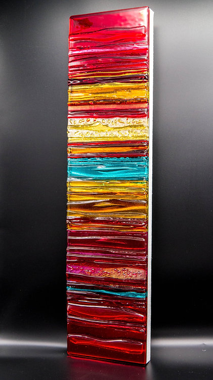 CARNIVAL - Sculpted Glass Wall Panel