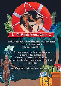 Pacifique princess cabaret story production de spectacle mont saint-michel spectacle normandie