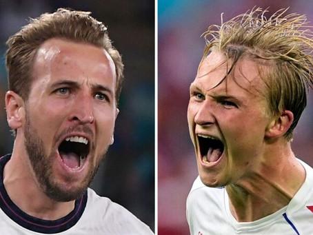 Anglia - Danemarca live online | Euro 2020