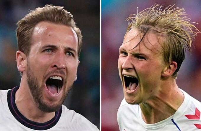 Anglia - Danemarca live | Euro 2020