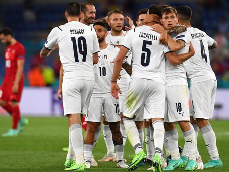 EURO 2020: Turcia 0-3 Italia