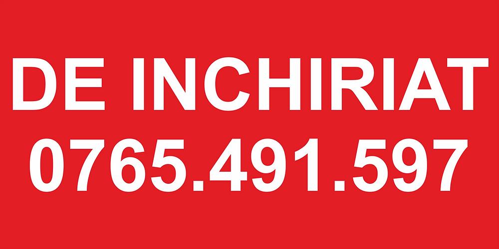 Banner publicitar cu mesaj standard