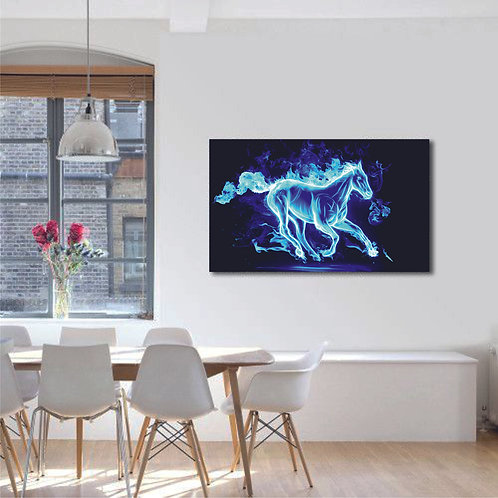 Tablou canvas Horse Light
