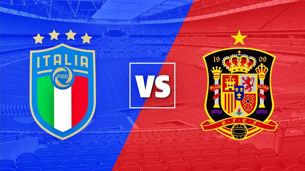 Italia v Spania Euro 2020