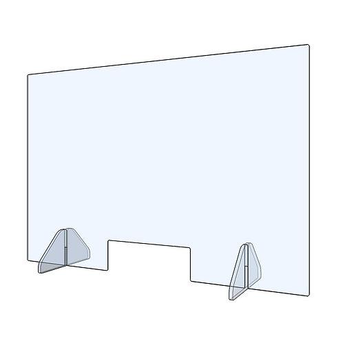 Protectie plexiglass 75 cm x 50 cm