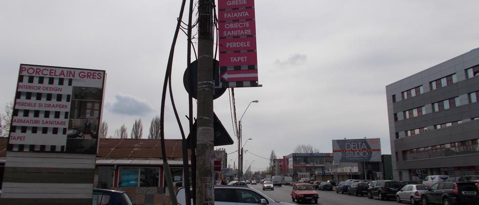 Banner Blockout - dubla fata